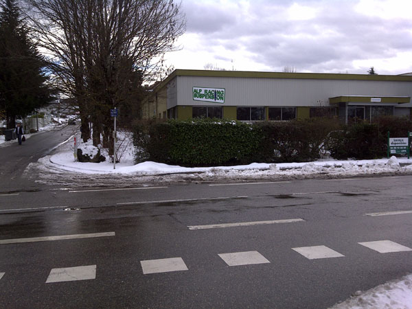 La bâtiment de Alp Racing Suspension