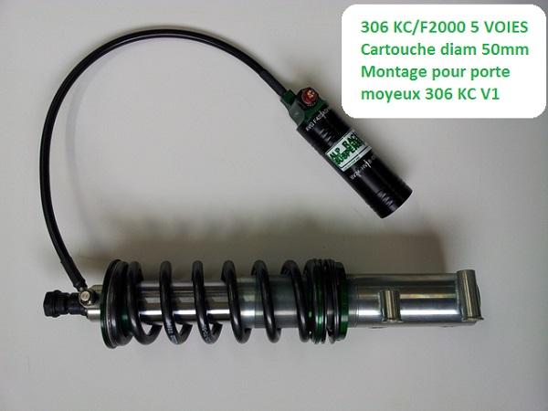 306 KITCAR/F2000 AV 3voies